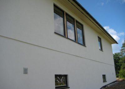 Hus utført i Jackon 350 mur
